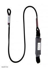 Přídavné lano s tlumičem pádu SLAR - 1 m